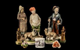 Collection of Miscellaneous Porcelain Fi
