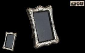 Elizabeth II Sterling Silver Photo Frame
