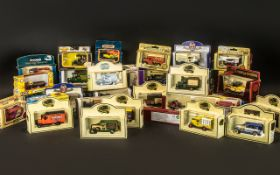 A Collection of Modern Diecast Models to