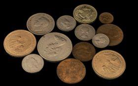 Collection of Mixed Coins - £5 Gibraltar