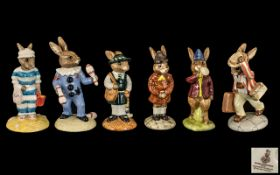 Collection of Royal Doulton 'Bunnykins' China comprising: 1/ ' Juggler Bunnykins ' Special Edition
