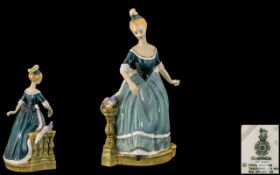 Royal Doulton Hand Painted Porcelain Figure ' Clarinda ' HN2724. Designer S. K. Harper.
