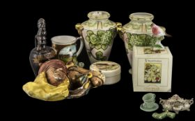 Collection of Pottery & China Items,