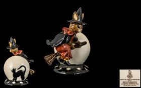 Royal Doulton - Special Edition Hand Painted Bunnykins Figure ' Trick or Treat ' Bunnykins. DB.