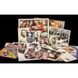 Collection of Memorbillia Silver Screen Era Film Stars Actors & Actresses,