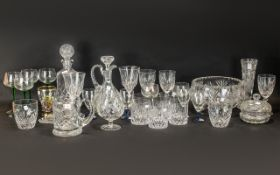 Large Collection of Glassware,