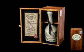 Carlos1 Imperial Lladro Brandy in Lladro ceramic decanter, boxed in a wooden box. Limited number