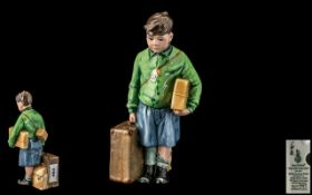 Royal Doulton Ltd and Numbered Edition Hand Painted Porcelain Figure ' Children of the Blitz ' The
