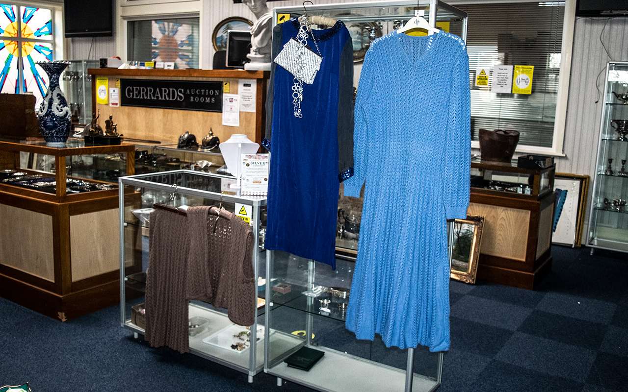 Vintage Clothing Comprising of 1960's Evening Dress,