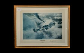 Aircraft Interest - Edmunds War Plane Limited Edition Signed Print 'Victory Over Dunkirk' by