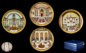 Royal Doulton Superb Quality Handpainted Fine Bone China Limited & Numbered Edition 'Celebration