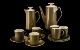 Beswick Part Coffee Set comprising 9.
