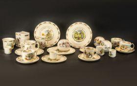 Collection of Royal Doulton 'Bunnykins' China comprising: