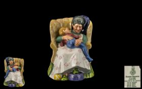 Royal Doulton Hand Painted Porcelain Figure ' Sweet Dreams ' Multi - Coloured. HN2380. Designer M.