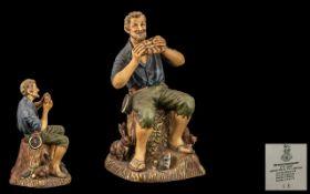 Royal Doulton Hand Painted Figure ' The Dream Weaver ' HN2283. Designer M. Nicol.