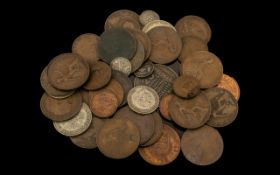 Bag of Mixed British Coins including old