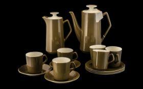 "Beswick Part Coffee Set comprising 9.5"""
