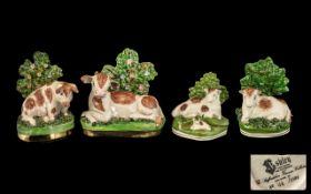Staffordshire Ashley Farm Animal Figures