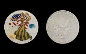 United States of America Silver Dollar,