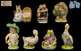Beswick Beatrix Potter Figures ( 7 ) Sev