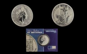 Royal Mint Ltd Edition 2 Pound Silver Br