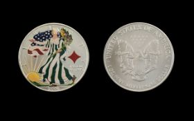 United States of America Liberty Silver