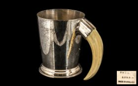Silver Plated Tankard, (EPNS),