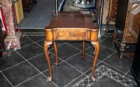 Mahogany Tea Table of Small Size,