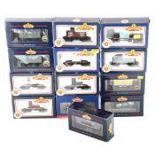 Thirteen Bachmann OO gauge model railway wagons, all boxed.