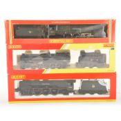 Three Hornby OO gauge model railway locomotives; R2880, R2231, R221