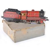 Bing Germany O gauge locomotive; clock-work LMS red, no.4429