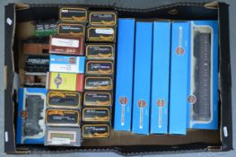 Airfix and Mainline OO gauge model railways; a collection.