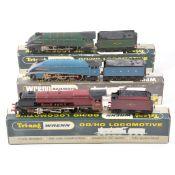 Wrenn OO gauge model railway locomotives; three including W2212, no.2226, no.2211