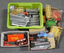 OO gauge model railway; a collection of mostly Tri-ang and others, including locomotives, rolling