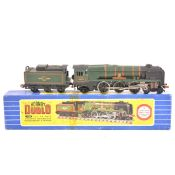 "A Hornby Dublo 4-6-2 West Country Locomotive ""Dorchester"" and tender, boxed."