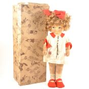 A Chad Valley 'Mabel Lucie Attwell' felt doll