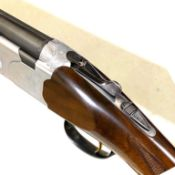 Beretta double-barrel over-and-under 12-bore shotgun,