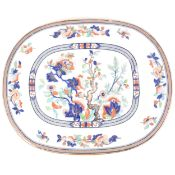 Pinder, Bourne & Co Dresden pattern meat plate