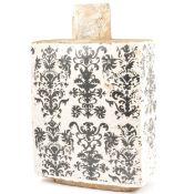 Stoneware wine flask