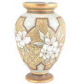 Large Doulton Silicon vase by Eliza Simmance