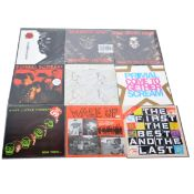 """Twenty-Two mostly Punk and Rock LP and 12"""" EP records; including Redskins etc"""