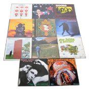 Eleven LP vinyl records; including Andy Warhol's Velvet Underground Featuring Nico
