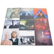 One box of LP vinyl records; approx 76, mostly 1970s and 1980s Pop and Rock music