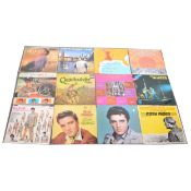 Thirteen LP vinyl records; mostly American, Soundtrack and others
