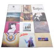 Approx ninety-one LP vinyl records; including Pink Floyd, The Who, Depeche Mode, Japan etc