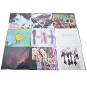 "Twenty-Nine 12"" EP and Single vinyl records; including Joy Division, The Cure, The Wonder Stuff,"