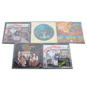 Incredible String Band; five LP vinyl records