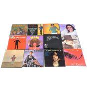 A quantity of vinyl LP records; including War of the Worlds box set, Michael Jackson, Stevie Wonder