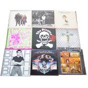 Twenty-Two LP vinyl records; mostly Rock, New Wave, Punk and Pop