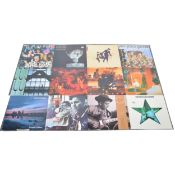 Twelve LP vinyl records; including, The Jesus and Mary Chain - Automatic, That Petrol Emotion etc
